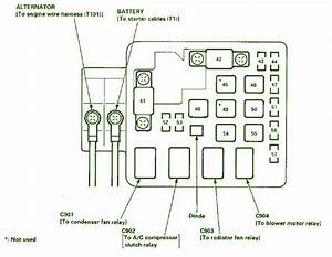 Alternato Wiring Diagram 1996 Honda Accord