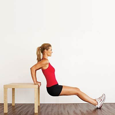 Bench Dips Workout by Bench Dips Look 10 Years Thinner With This Workout