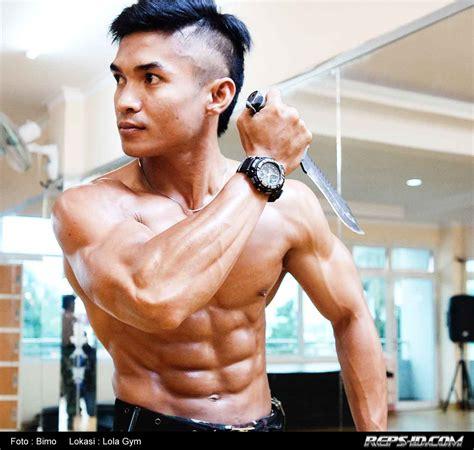 vicky arifin sang pengaman presiden yang bertubuh kekar reps indonesia fitness healthy