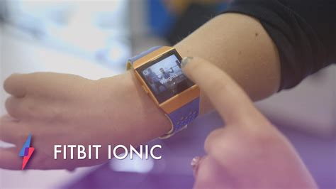 fitbit ionic review trusted reviews