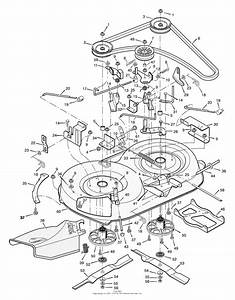 Man Riding Mower Parts Diagram