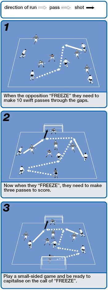 freeze command game  improve players  touch skills