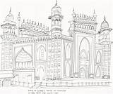 Gate India Drawing Getdrawings sketch template