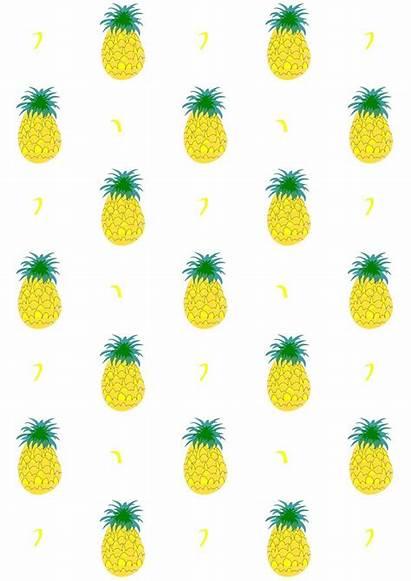Pineapple Paper Printable Fruity Digital Pattern Scrapbooking