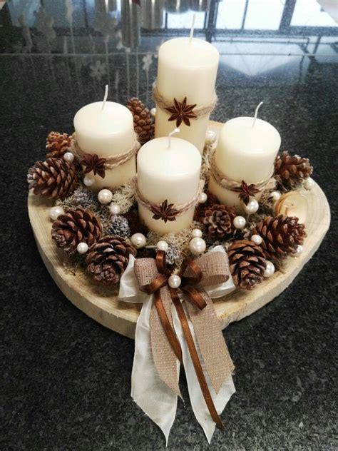 candele per l avvento centrotavola per l avvento composizioni