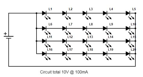 Led Wiring Series Parallel
