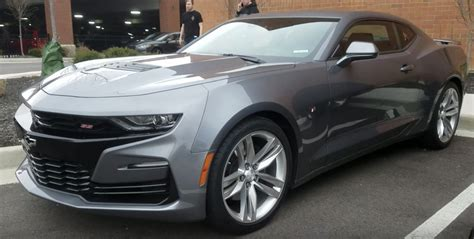 2019 Camaro Ss Spotted In The Metal  Gm Authority