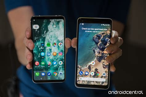 pixel 2 xl vs lg v30 the pair for right now android central