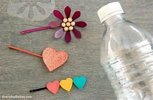 Plastic Bottle DIY Hair Clip Craft