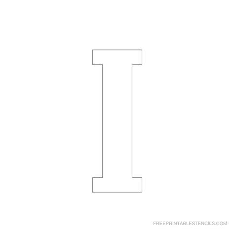 printable   letter stencils    printable stencils