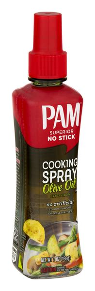 Pam Pam No Stick Cooking Spray Olive Oil | Hy-Vee Aisles ...