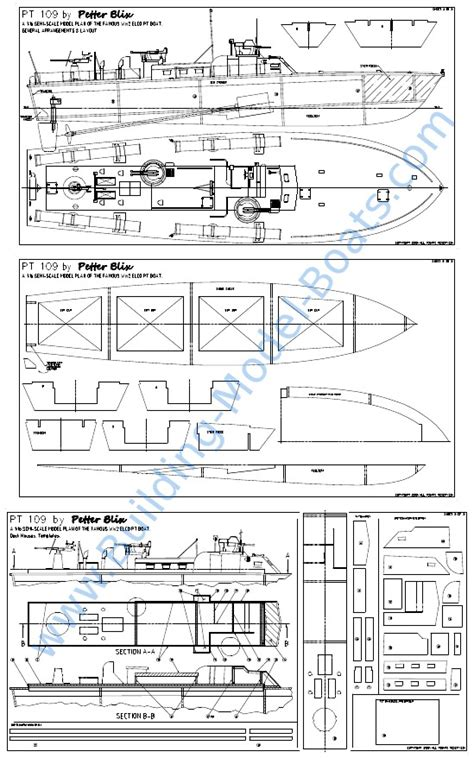 Boat Drawings Plans by Pt Boat Model Plans Guide Antiqu Boat Plan