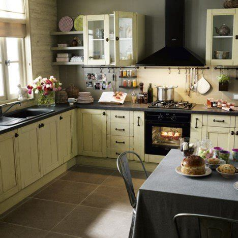 cuisine tradition meuble de cuisine beige delinia tradition leroy merlin