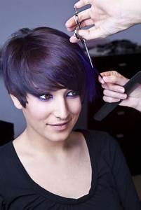 Coloration Cheveux Court : coupe de cheveux court avec frange femme 2018 ~ Melissatoandfro.com Idées de Décoration