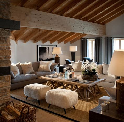 Modern Chic Living Room Ideas by Chic Details For Cozy Rustic Living Room D 233 Cor