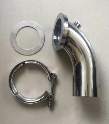 stainless downpipe elbow  holset turbo hy hx