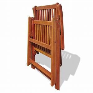 Gartenmöbel Set 6 Stühle : holz gartenm bel set essgruppe 6 verstellbare st hle 1 ausziehtisch g nstig kaufen ~ Bigdaddyawards.com Haus und Dekorationen