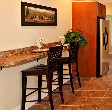 kitchen bar table against wall kitchen islands with breakfast bar wall bar granite