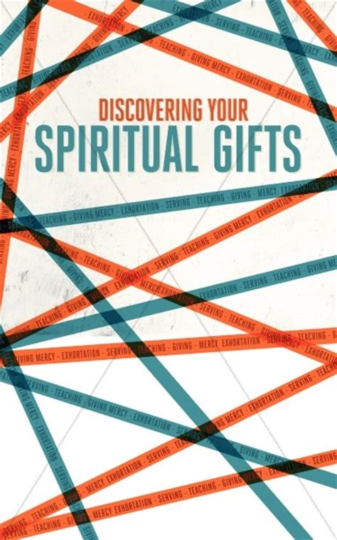 discovering  spiritual gifts christian bulletin