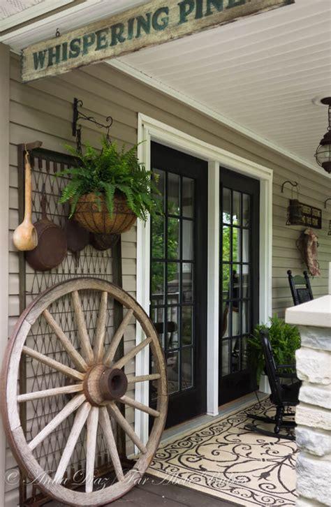 Best Rustic Farmhouse Porch Decor Ideas Designs For