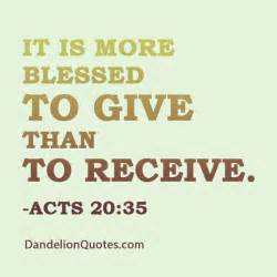 better to give than receive quotes quotesgram