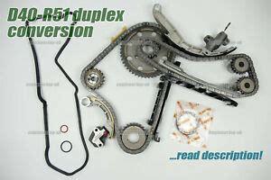 nissan navara d40 2 5 dci yd25ddti duplex timing chain kit conversion upgrade ebay