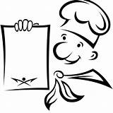 Chef Clipart Coloring Google Printable Internet Designs sketch template