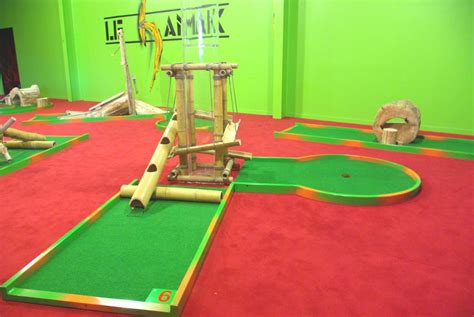 sjeu interieur galerie photos du golf miniature itin 233 rant en alu