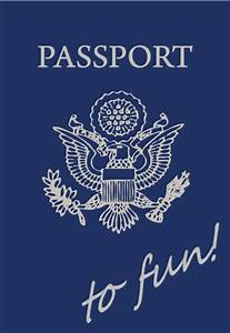 robyn39s nest diy passport to fun With fun passport template