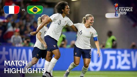 France Brazil Fifa Women World Cup