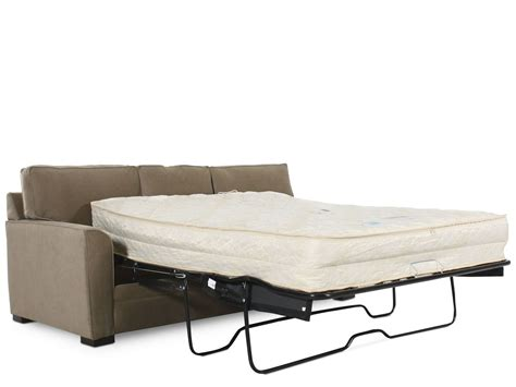 traditional sleeper sofa bed traditional queen sleeper sofa in brown mathis brothers