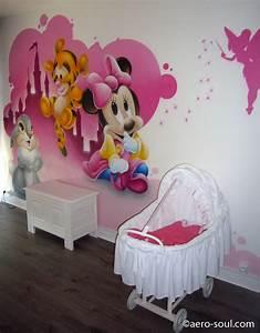 Chambre Bébé Disney : d coration chambre enfant graffiti b b s disney ~ Farleysfitness.com Idées de Décoration
