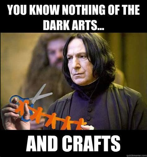 Snape Memes - dark crafts and snape harry potter on pinterest