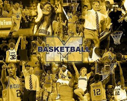 Basketball Michigan Wallpapers Wolverines Ncaa Android Wallpaperaccess