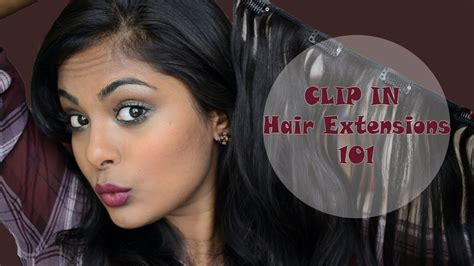 Clip In Hair Extensions 100 Human Hair Indian From