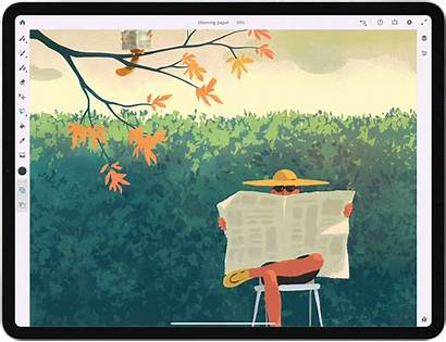 Adobe Fresco Less Artwork Lot Draw Painting