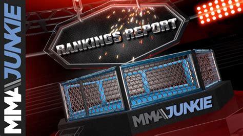 MMA Junkie's Rankings Report - Nov.5, 2019 - YouTube