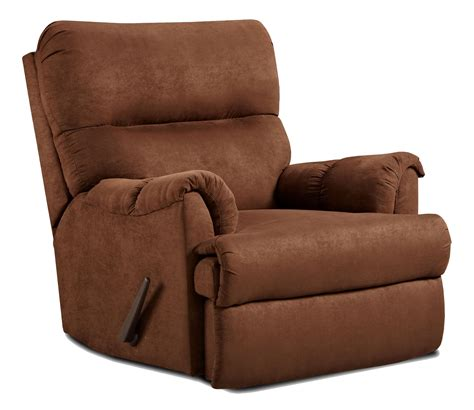 affordable furniture  casual chaise rocker recliner