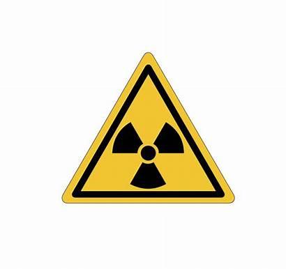 Radiation Transparent Warning Hazard Icon Radioactive Toxic