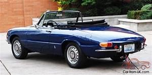 Alfa Romeo Spider 1968 : 1968 alfa romeo duetto 1300 junior spider twin cam ~ Medecine-chirurgie-esthetiques.com Avis de Voitures
