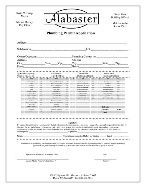 /plumbing%20permit%20ap by City of Alabaster - Issuu