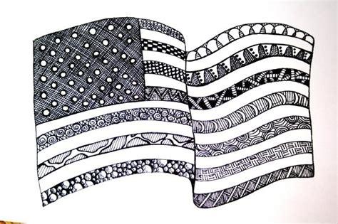 patriotic zentanglerepin bypinterest  ipad zentangleletteringdoodles pinterest