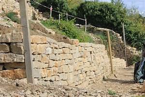 Construction En Pierre : mur de sout nement construction en pierre s che et ~ Premium-room.com Idées de Décoration