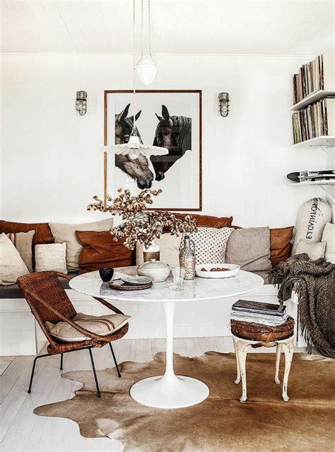 Wohnzimmer Modern Braun Weiß by 77 Moderne Essecken Zum Inspirieren