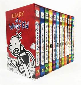 Diary Of A Wimpy Kid Boxed Set 10 Hb Books 1 10 New Box