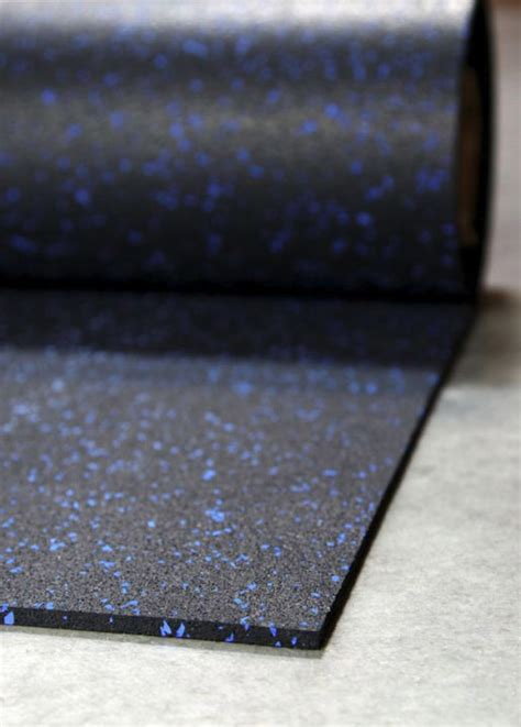 rolled rubber flooring thickness iron