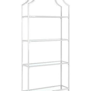 White Metal Etagere by Metal The Toilet Etagere Pottery Barn