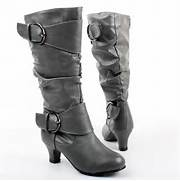 High Heel Boots For Ki...