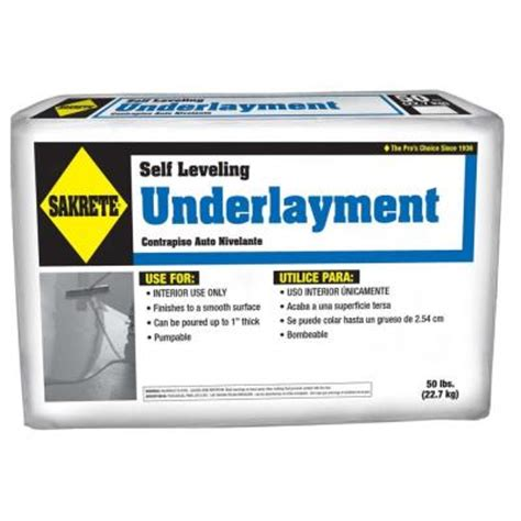 Concrete Floor Leveler Home Depot by Oldcastle 50 Lb Gray Self Leveling Floor Resurfacer