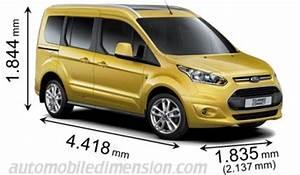 Ford Tourneo Connect 7 Places : dimensions des voitures ford avec longueur largeur et hauteur ~ Maxctalentgroup.com Avis de Voitures